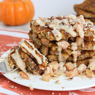 Cinnamon Apple Pumpkin Pie French Toast.