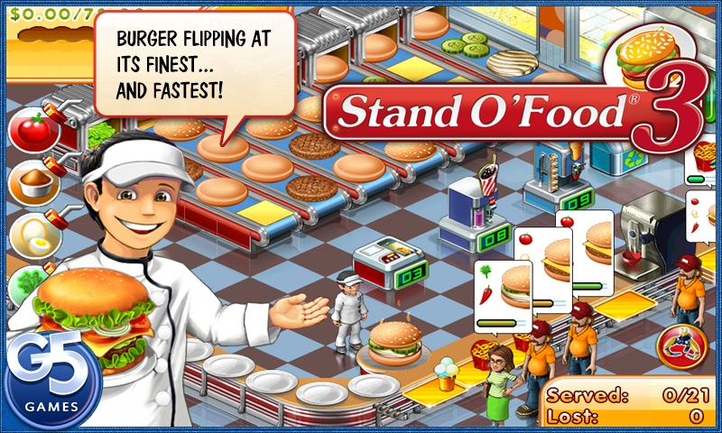 Stand O'Food® 3 - screenshot