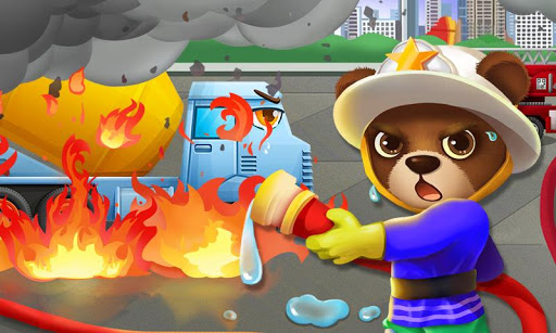 Fire Truck: Animal Rescue Game