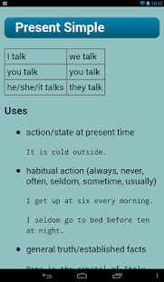English Verbs- screenshot thumbnail