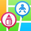 ベビ★マ - 授乳室・おむつ替え検索マップ icon