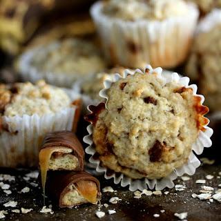 Twix Banana Oatmeal Muffins