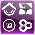 purpleFusion Go Launcher Theme icon