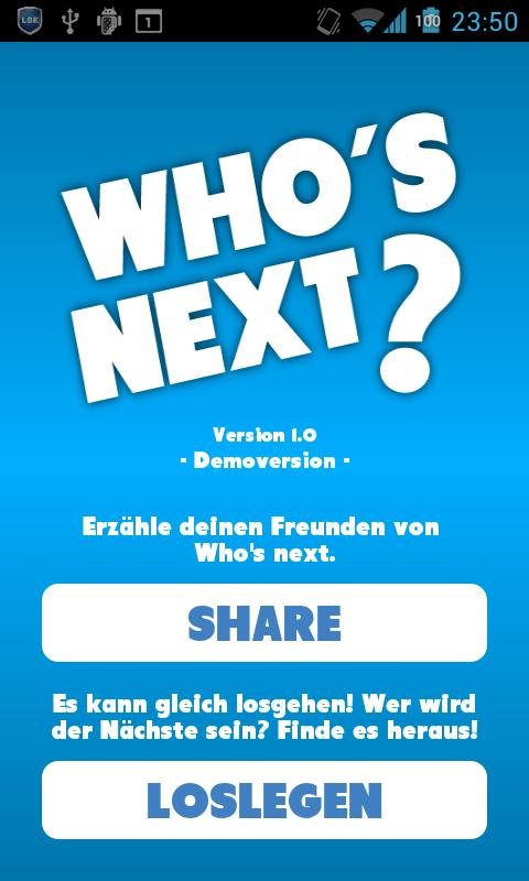 Who's next? - Dating App PRO - screenshot