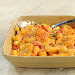 Gnocchi with Marinara Sauce.