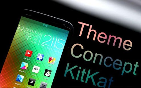 Concept kitkat theme HD 7 in 1 - screenshot thumbnail