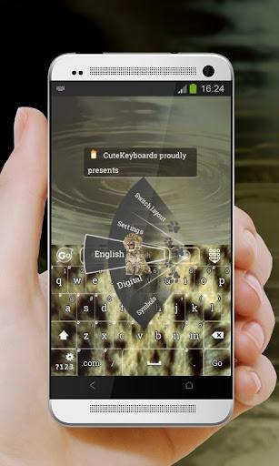 【免費個人化App】豹幼崽 GO Keyboard-APP點子