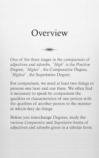 Grammar Express : Degrees - screenshot thumbnail