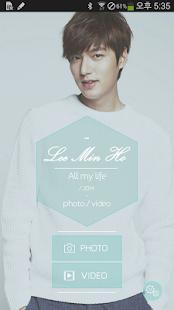 Lee min ho - All my life