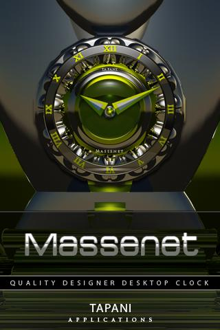 Massenet ALARM Clock Widget