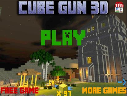 魔方枪3d Cube Gun 3d - Free Mine