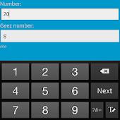 Geez Numbers