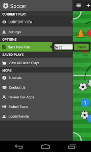 Soccer coach's clipboard - screenshot thumbnail