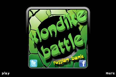 Klondike Battle Russian Bank - screenshot