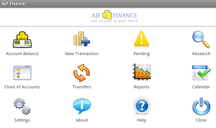 AJF Finance - Free - screenshot
