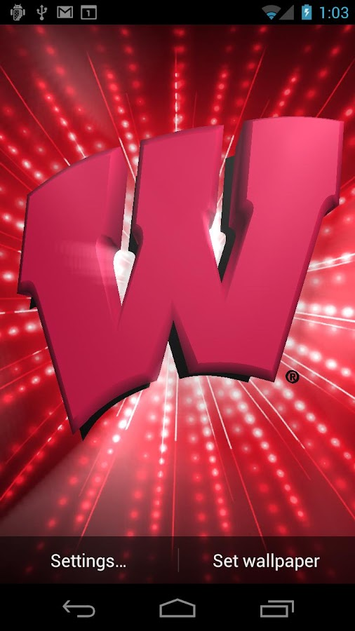 wisconsin badgers live wps android apps on google play