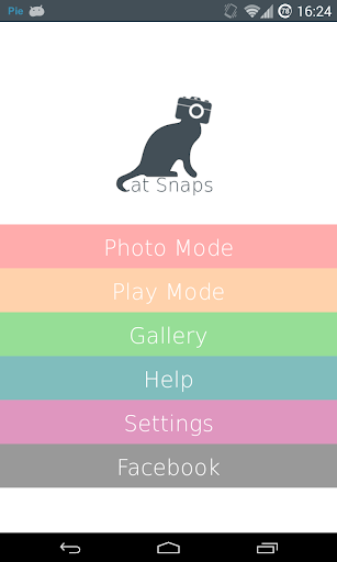 Cat Snaps - Selfies for Cats