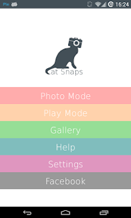 Cat Snaps - Selfies for Cats! - screenshot thumbnail