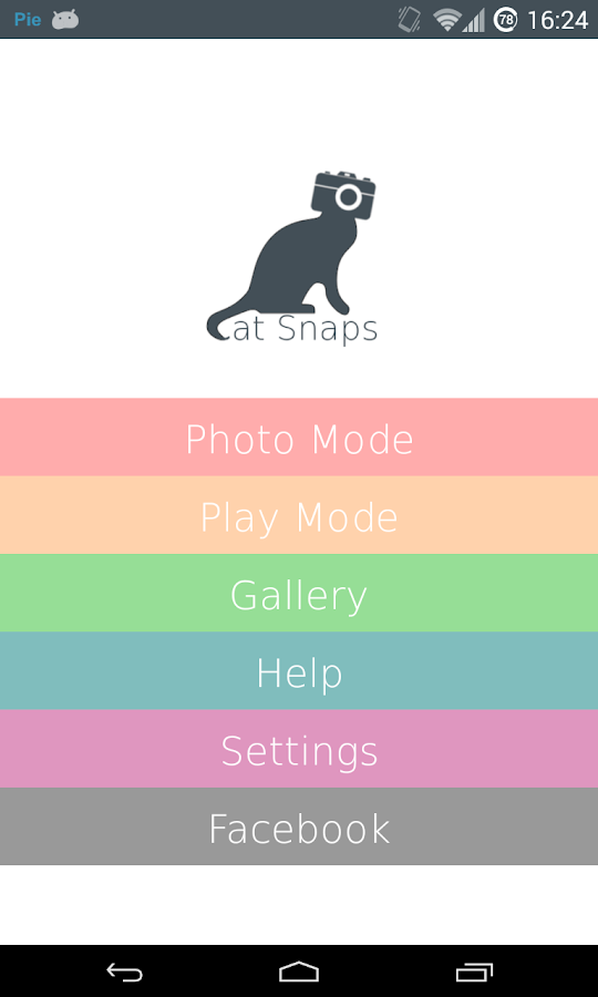 Cat Snaps - Selfies for Cats! - screenshot