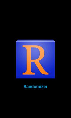 Randomizer - screenshot