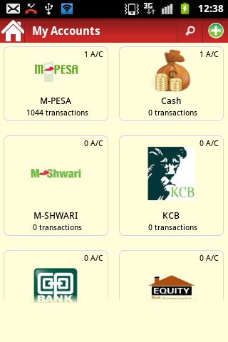 pesaDroid Free MPESA Statement - screenshot