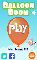 Screenshot of Balloon Boom for kids
