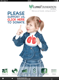 Lung Foundation Australia- screenshot thumbnail