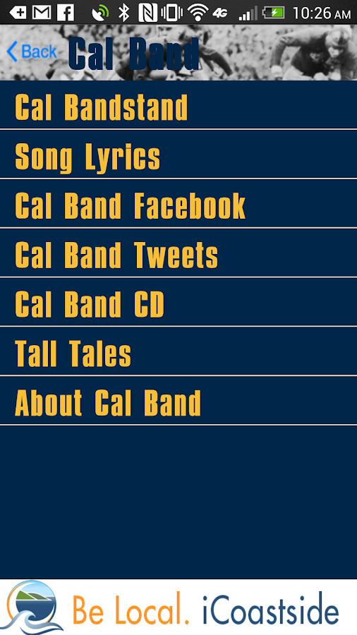 iGoBears California Sports - screenshot