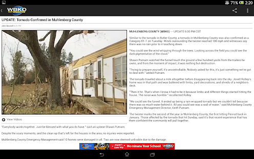 WBKO News - screenshot thumbnail