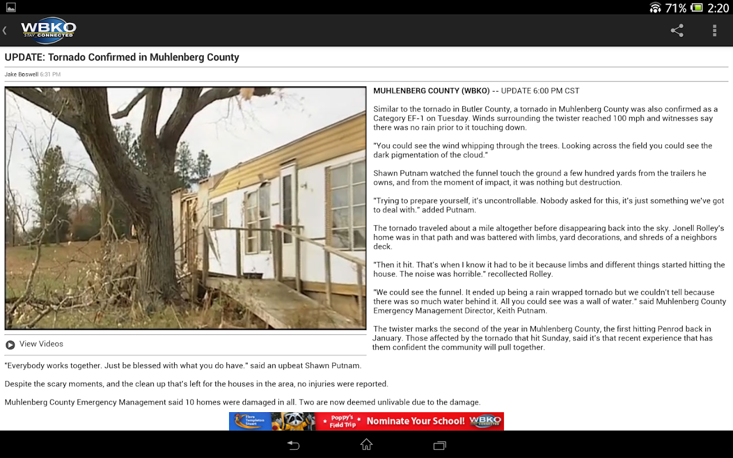 WBKO News - screenshot