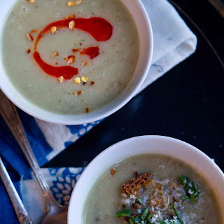 Sunchoke and Garlic Soup