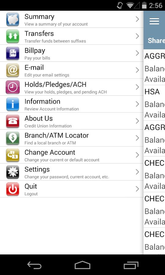 Trico Community FCU - screenshot