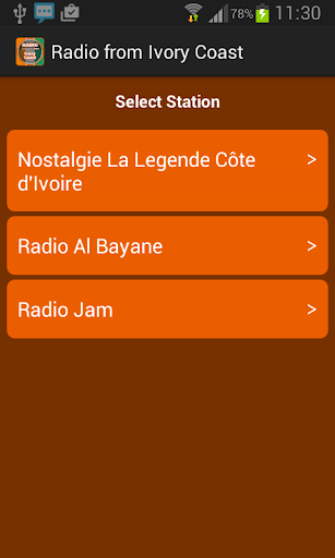 Radio from Ivory Coast