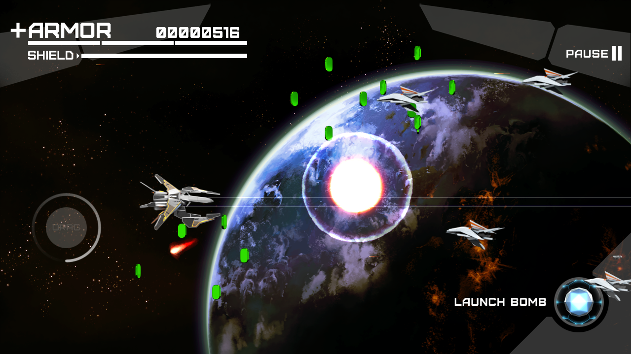 Proto Thunder: Zero Hour- screenshot