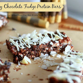 Chocolate Fudge Protein Bars.