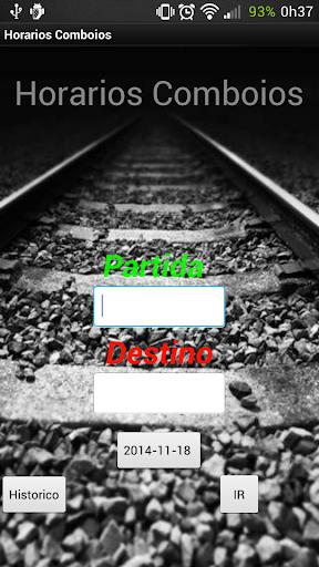 Horários Comboios Portugal