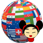 Interpreter- translator voice icon