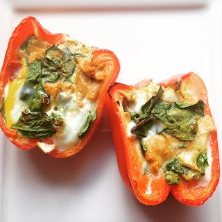 Breakfast Stuffed Bell Peppers