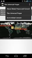 Screenshot of The Universal Prayer