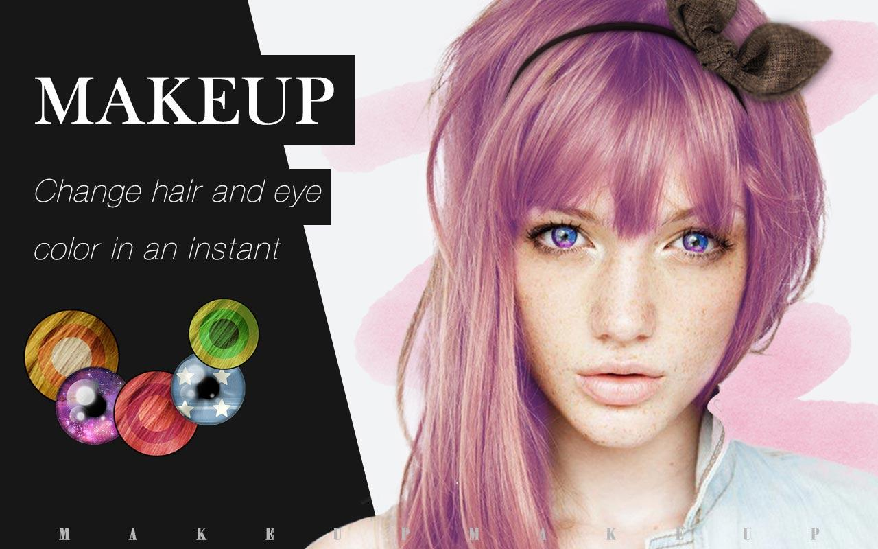 Prime Makeup Cam Amp Color Cosmetic Android Apps On Google Play Short Hairstyles Gunalazisus