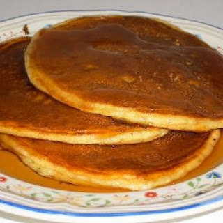 Whole Wheat Protein Pancakes.