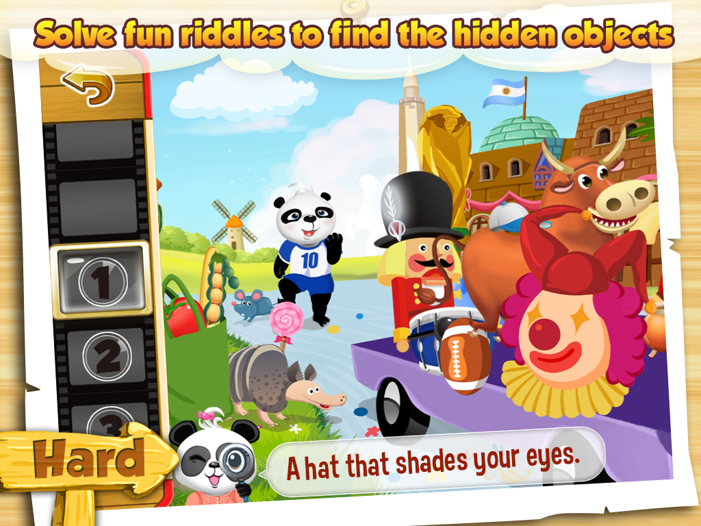 I Spy With Lola: Fun Word Game - screenshot