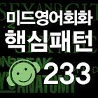 '미드' 영어회화 핵심패턴 233 [첨삭지도 Ver.] icon