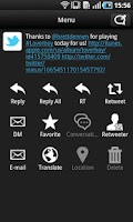 Screenshot of TwitRocker2 for Twitter