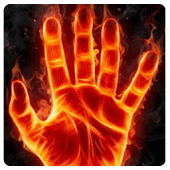 Magic Flaming Hand