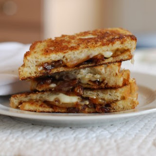 Caramelized Onion Grilled Cheese