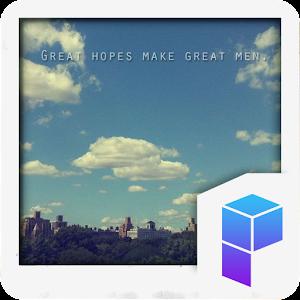 Great Hopes 런처플래닛 테마 個人化 LOGO-玩APPs