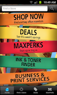 OfficeMax - screenshot thumbnail