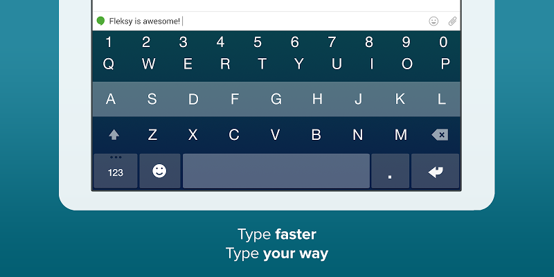 Fleksy- Emoji & gif keyboard app Screenshot 13