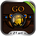 Gold Age GO Getjar Theme icon